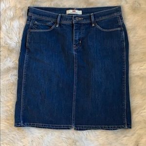 Levi's Perfectly Slimming Jean Mini Skirt